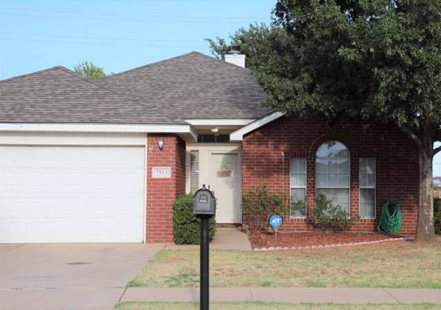 7513 Paris Avenue, Lubbock, TX 79423 (MLS #201908404) :: The Lindsey Bartley Team