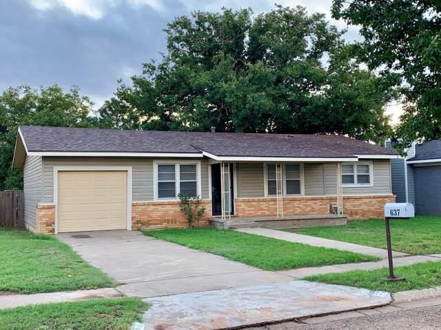 637 S Grain, Crosbyton, TX 79322 (MLS #201908849) :: McDougal Realtors