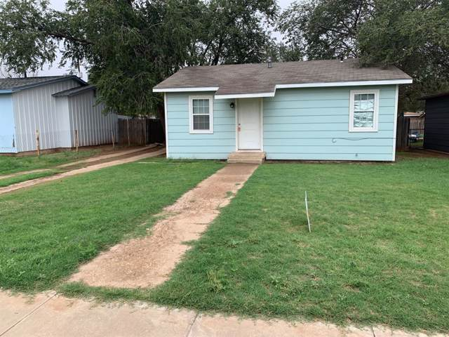 408 39th Street, Lubbock, TX 79404 (MLS #201909026) :: The Lindsey Bartley Team