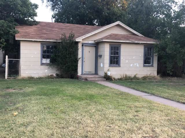 3412 27th Street, Lubbock, TX 79410 (MLS #201909334) :: Stacey Rogers Real Estate Group at Keller Williams Realty