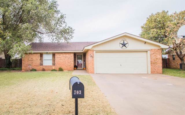 703 14th Street, Shallowater, TX 79363 (MLS #201909634) :: Lyons Realty
