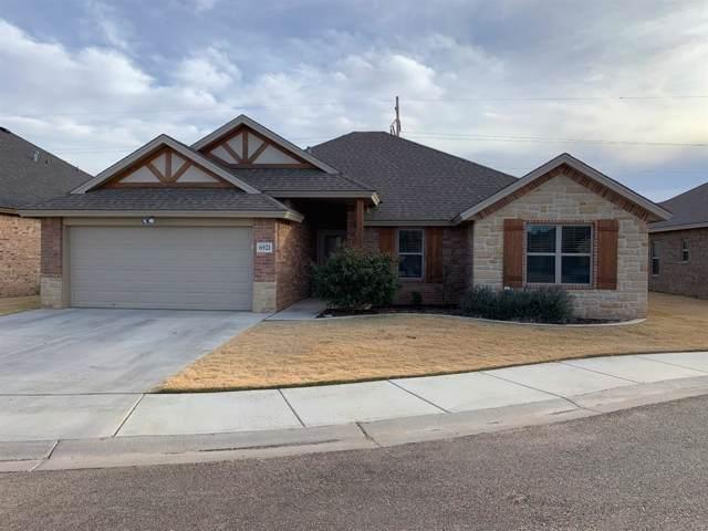 6921 72nd Street, Lubbock, TX 79424 (MLS #201909911) :: McDougal Realtors