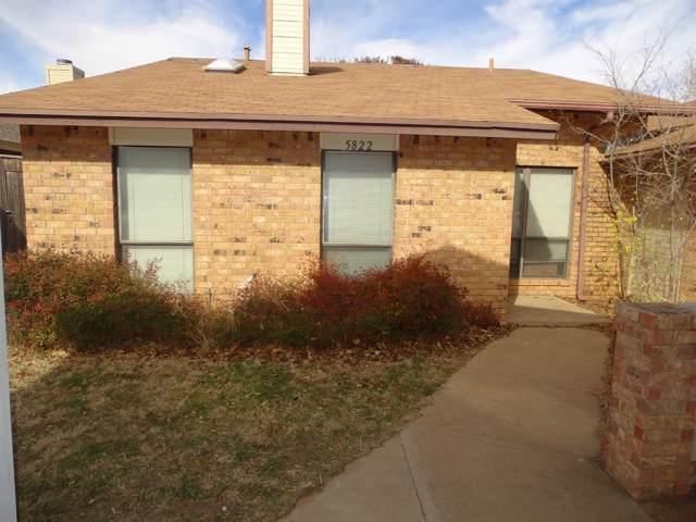 5822 W 7th Drive, Lubbock, TX 79416 (MLS #201910189) :: McDougal Realtors