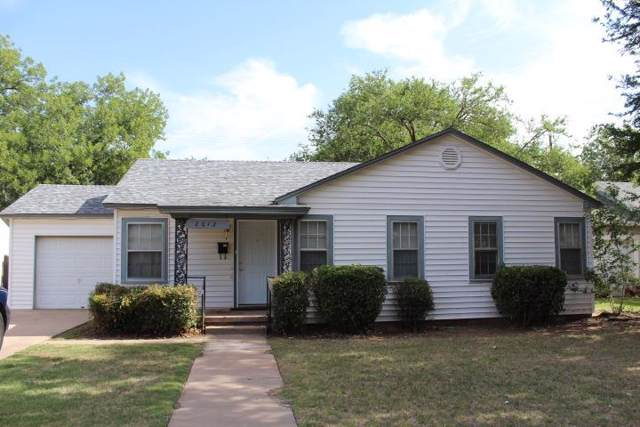 2612 33rd Street, Lubbock, TX 79410 (MLS #201910245) :: Reside in Lubbock | Keller Williams Realty