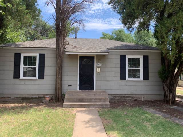 2415 31st Street, Lubbock, TX 79411 (MLS #201910295) :: Better Homes and Gardens Real Estate Blu Realty