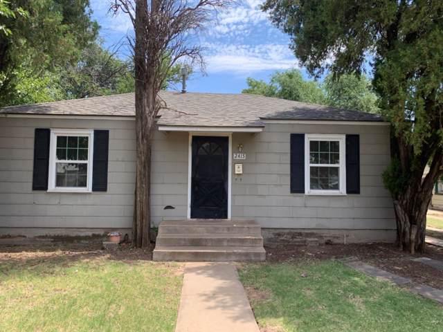 2415 31st Street, Lubbock, TX 79411 (MLS #201910295) :: Duncan Realty Group