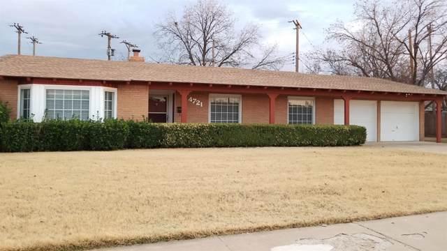 4721 27th Street, Lubbock, TX 79410 (MLS #201910465) :: The Lindsey Bartley Team