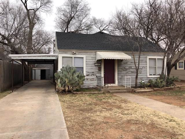 2106 31st Street, Lubbock, TX 79411 (MLS #202000672) :: Stacey Rogers Real Estate Group at Keller Williams Realty