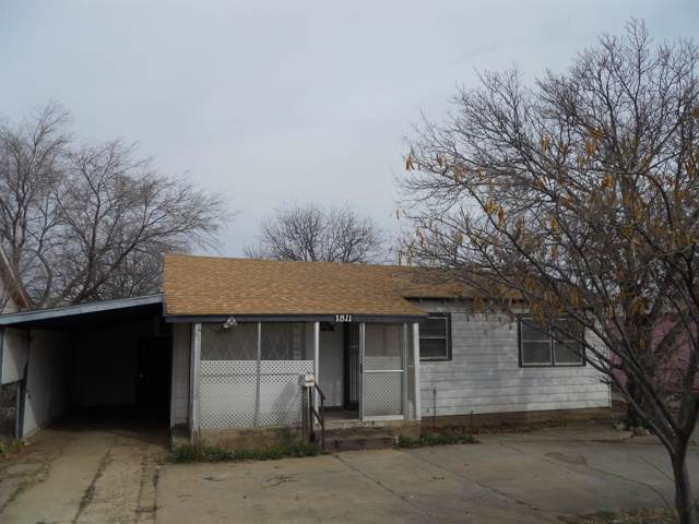 1811 E 25th Street, Lubbock, TX 79404 (MLS #202000906) :: Stacey Rogers Real Estate Group at Keller Williams Realty
