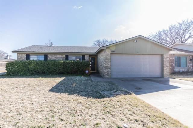 6119 37th Street, Lubbock, TX 79407 (MLS #202001349) :: Reside in Lubbock | Keller Williams Realty