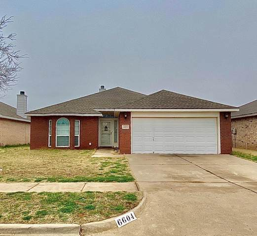 6604 91st Street, Lubbock, TX 79424 (MLS #202002370) :: Stacey Rogers Real Estate Group at Keller Williams Realty