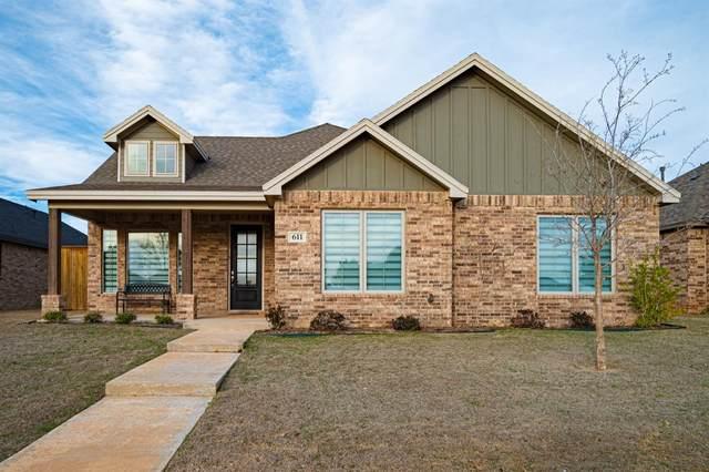 611 Cambridge Avenue, Wolfforth, TX 79382 (MLS #202002689) :: Lyons Realty