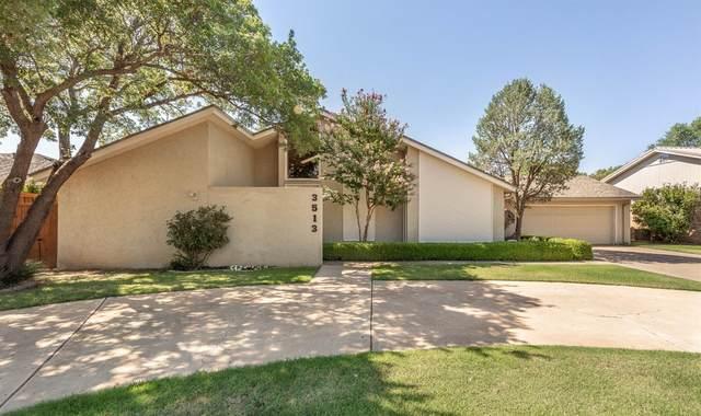 3513 96th Street, Lubbock, TX 79423 (MLS #202007790) :: Lyons Realty