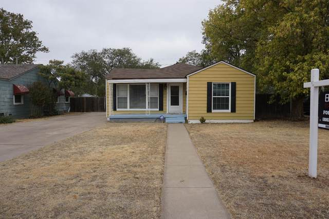 2608 31st Street, Lubbock, TX 79410 (MLS #202010094) :: Better Homes and Gardens Real Estate Blu Realty