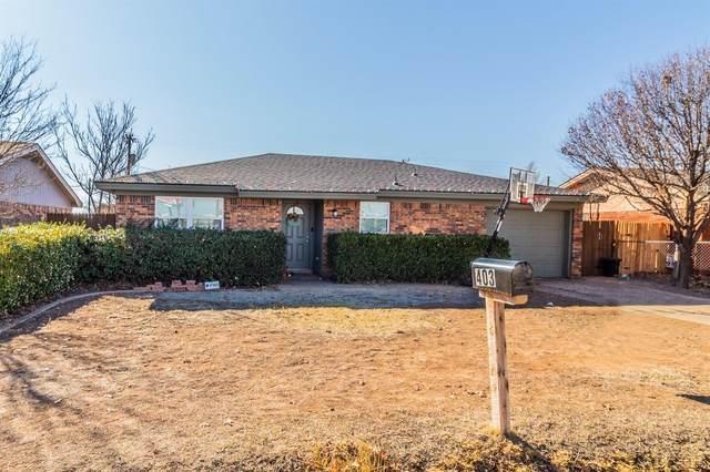 403 5th Street, Wolfforth, TX 79382 (MLS #202011481) :: Lyons Realty