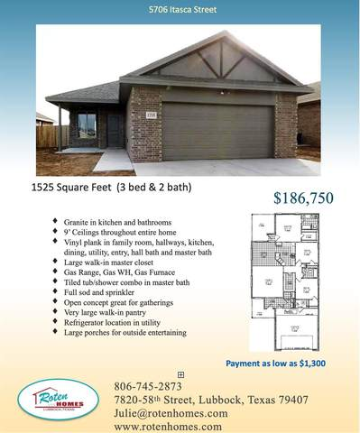 5706 Itasca, Lubbock, TX 79416 (MLS #202011684) :: Stacey Rogers Real Estate Group at Keller Williams Realty
