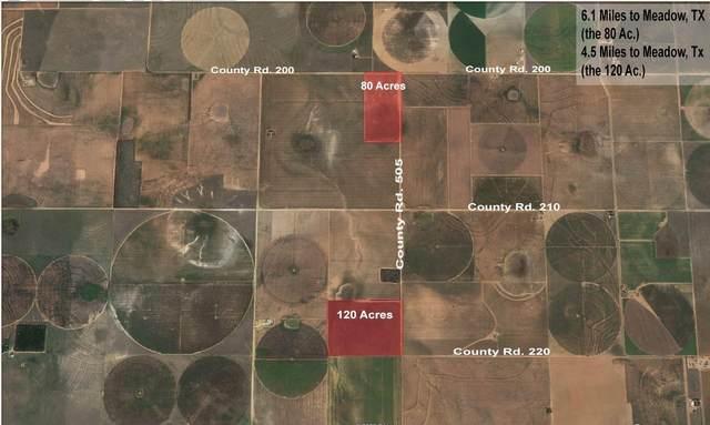 220 County Road 505, Meadow, TX 79345 (MLS #202101884) :: Rafter Cross Realty