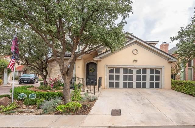 45 Tuscan Villa Circle, Lubbock, TX 79423 (MLS #202102132) :: Rafter Cross Realty