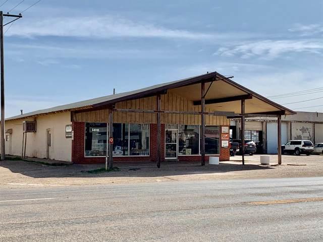 120 E Main, Crosbyton, TX 79322 (MLS #202103374) :: The Lindsey Bartley Team