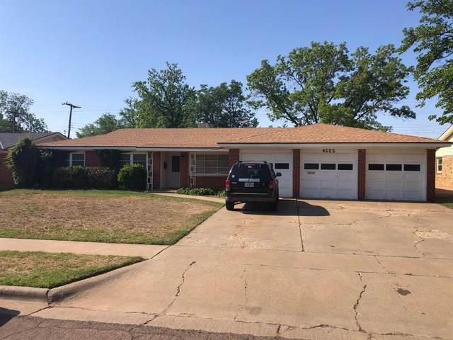 4605 30th Street, Lubbock, TX 79410 (MLS #202104836) :: Rafter Cross Realty