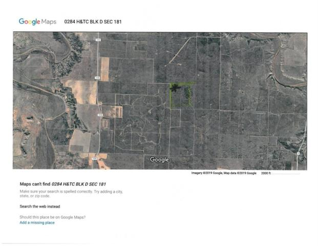 0 County Road 325, Aspermont, TX 79502 (MLS #201900435) :: The Lindsey Bartley Team