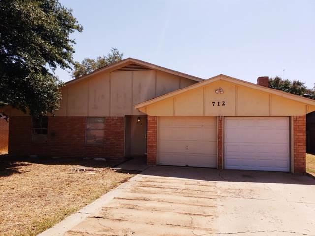 712 E 76th Street, Lubbock, TX 79404 (MLS #201907916) :: Lyons Realty