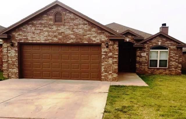 2213 100th Street, Lubbock, TX 79423 (MLS #201908627) :: McDougal Realtors