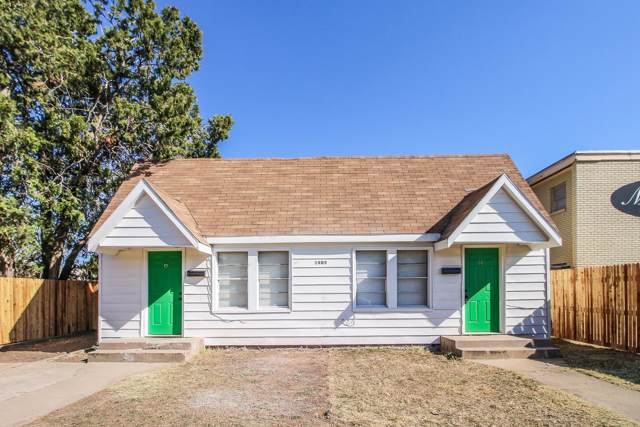 1805 Ave R, Lubbock, TX 79401 (MLS #201909793) :: Stacey Rogers Real Estate Group at Keller Williams Realty