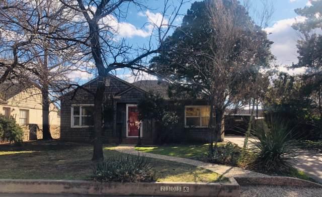 2303 28th Street, Lubbock, TX 79411 (MLS #201910790) :: The Lindsey Bartley Team
