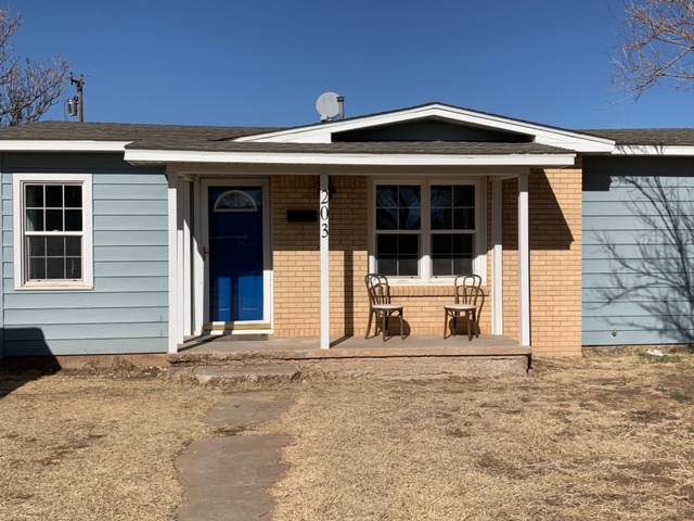203 W Jackson, Levelland, TX 79336 (MLS #202012047) :: Stacey Rogers Real Estate Group at Keller Williams Realty
