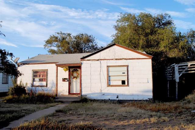 1605 9th Street, Levelland, TX 79336 (MLS #201909666) :: Stacey Rogers Real Estate Group at Keller Williams Realty