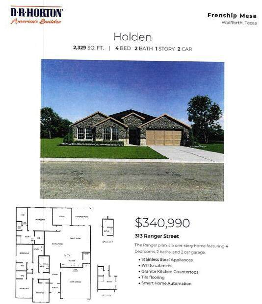 313 Ranger, Wolfforth, TX  (MLS #202109791) :: Better Homes and Gardens Real Estate Blu Realty