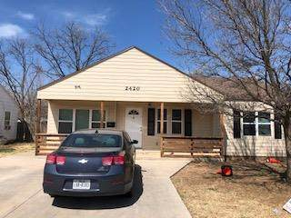 2420 26th Street, Lubbock, TX 79411 (MLS #202001123) :: Stacey Rogers Real Estate Group at Keller Williams Realty