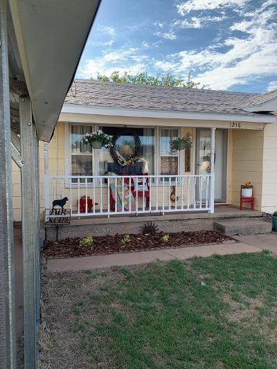 1216 Ave M, Ralls, TX 79357 (MLS #202004445) :: Lyons Realty