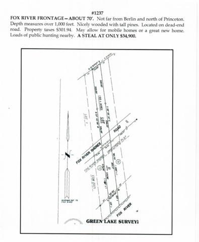W2753 Fox River Shores W, Seneca, WI 54923 (#1812670) :: Nicole Charles & Associates, Inc.