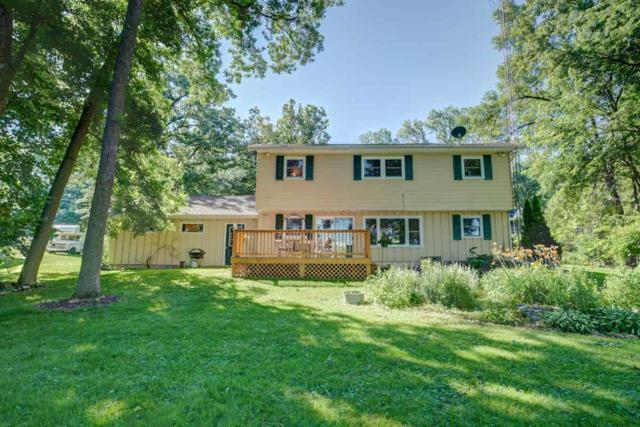 N3143 Sleepy Hollow Rd, Fall River, WI 53932 (#1835358) :: Nicole Charles & Associates, Inc.