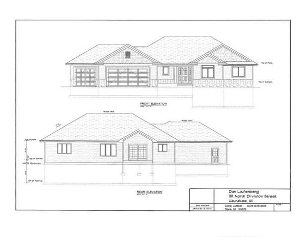 1111 N Division St, Waunakee, WI 53597 (#1856360) :: HomeTeam4u