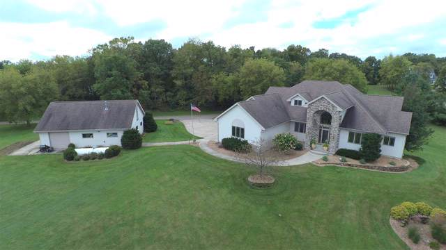 1283 County Road D, Oregon, WI 53575 (#1870124) :: Nicole Charles & Associates, Inc.