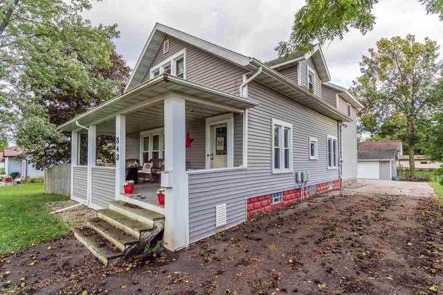 543 W Main St, Reedsburg, WI 53959 (#1870307) :: Nicole Charles & Associates, Inc.