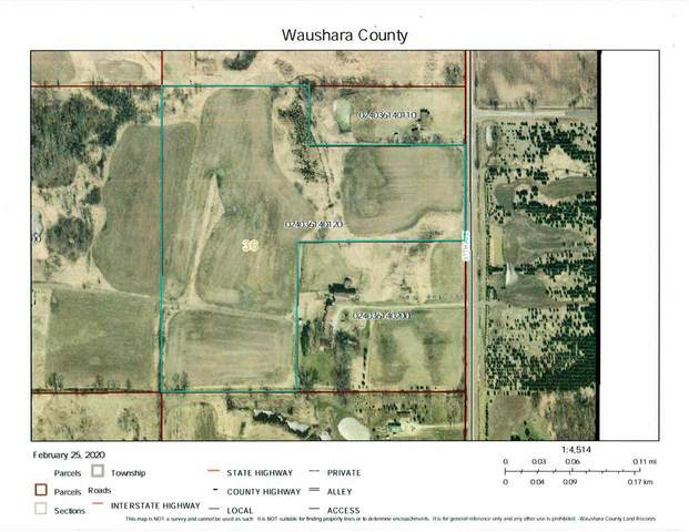 24.9 Ac 37th Ave, Poy Sippi, WI 54967 (#1879064) :: RE/MAX Shine