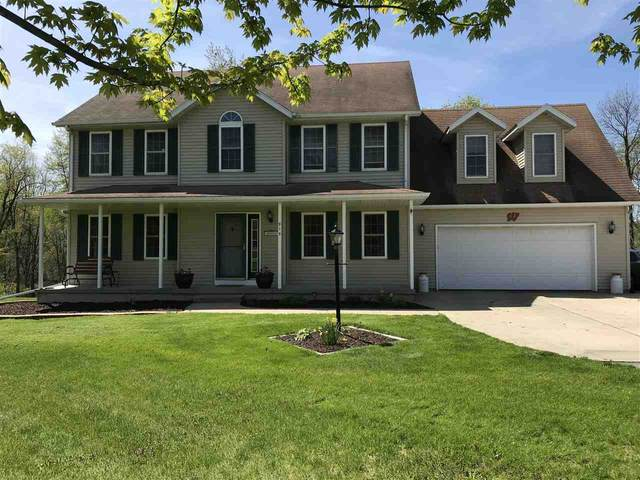 915 County Road N, Dunkirk, WI 53589 (#1883870) :: HomeTeam4u