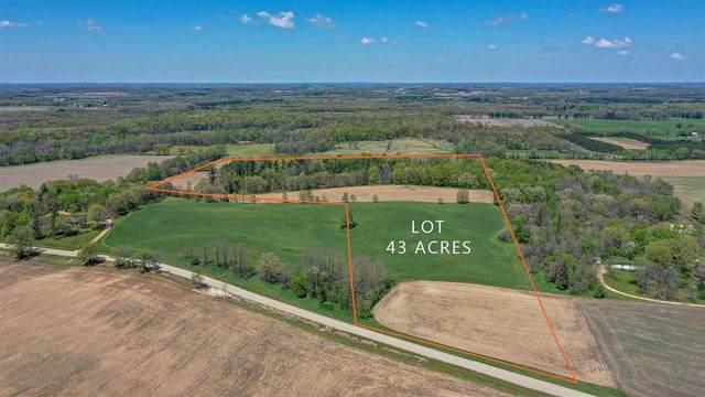 43 Acres County Road X, Lewiston, WI 53901 (#1883882) :: HomeTeam4u
