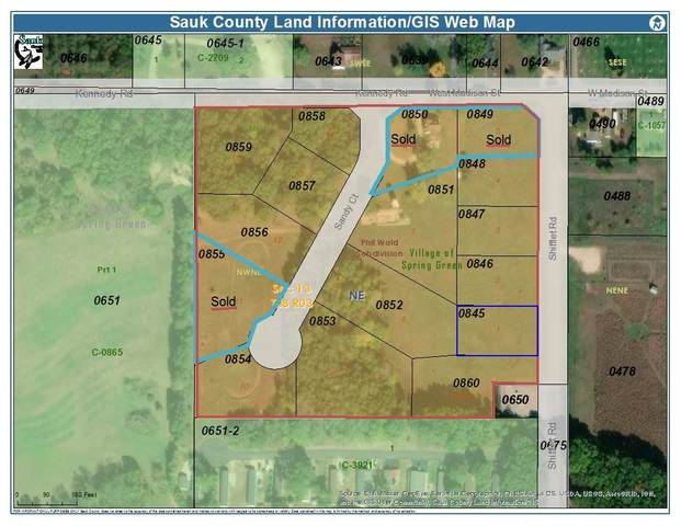 9 Acres Sandy Ct, Spring Green, WI 53588 (#1891487) :: HomeTeam4u