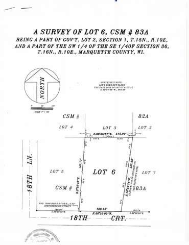 18th Ct, Montello, WI 53949 (#1893820) :: HomeTeam4u