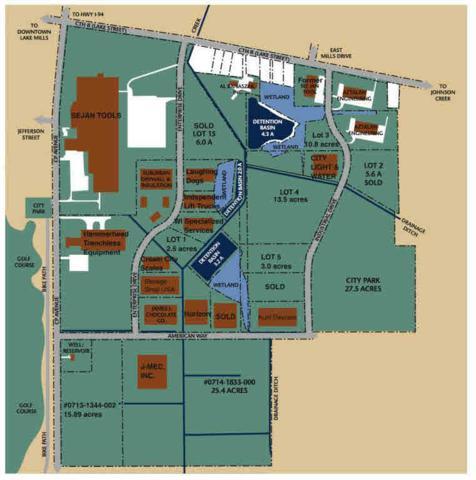 Lt0 Industrial Dr, Lake Mills, WI 53551 (#352924) :: Nicole Charles & Associates, Inc.