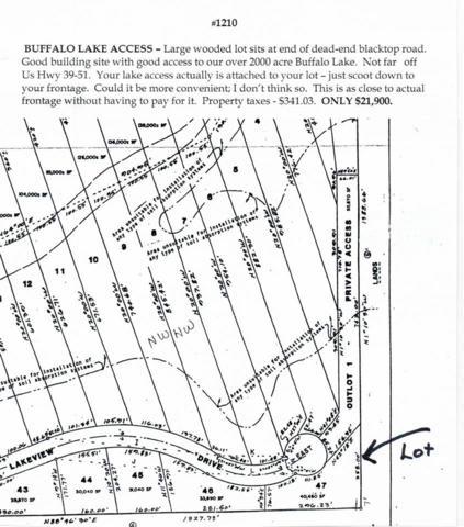 L47 Lakeview Dr, Packwaukee, WI 53949 (#1793165) :: HomeTeam4u