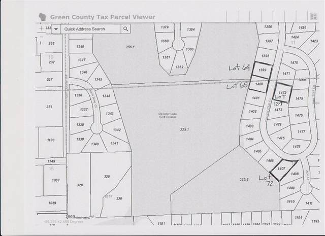 Lot 64 Country Club Dr, Decatur, WI 53520 (#1875937) :: Nicole Charles & Associates, Inc.