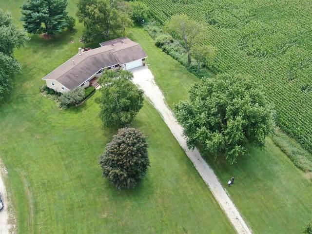 W9591 County Road G, Beaver Dam, WI 53916 (#1889210) :: Nicole Charles & Associates, Inc.