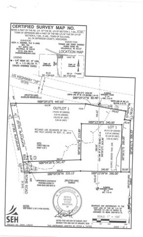 5.66 Ac Rome Rd, Sullivan, WI 53137 (#1809823) :: Nicole Charles & Associates, Inc.