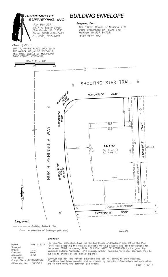 6101 Shooting Star Tr, Mcfarland, WI 53558 (#1844933) :: Nicole Charles & Associates, Inc.